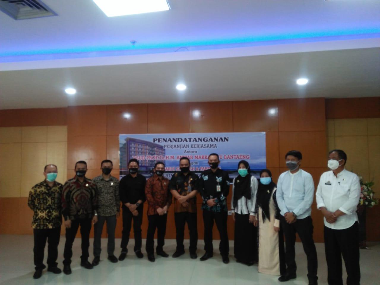 Suardi Syam & Partners Resmi Jadi Konsultan Hukum RSUD Bantaeng