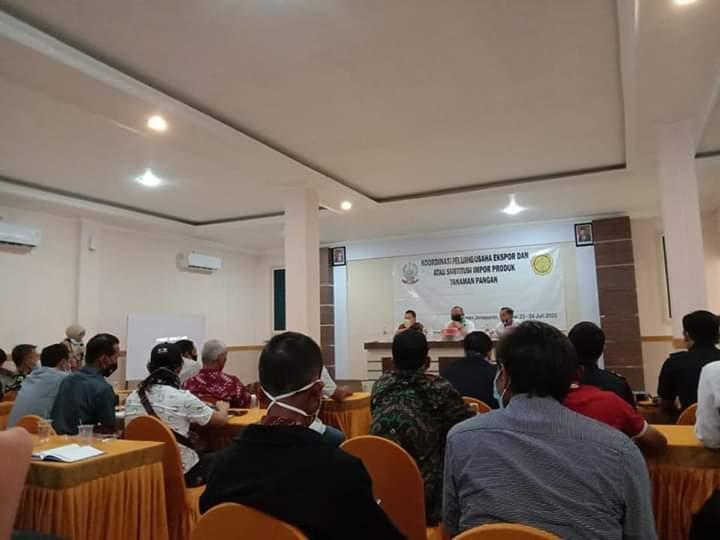 Bahas Peluang Ekspor dan Subtitusi Impor Produk Tanaman Pangan, Dinas Pertanian Kabupaten Jeneponto Gelar Rapat Koordinasi