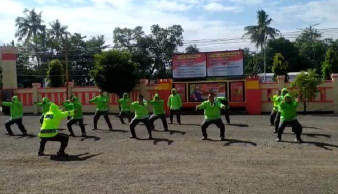 Kelebihan Berat Badan, Sejumlah Anggota Brimob Yon C Pelopor jalani program pembinaan fisik