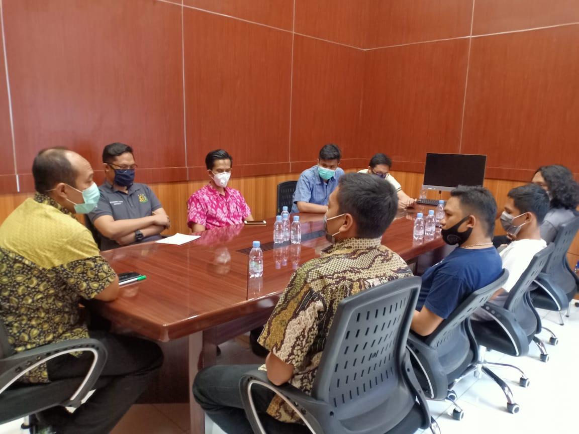 Aktivis Mahasiswa Bantaeng Temui Kajari Baru, Ada Apa?