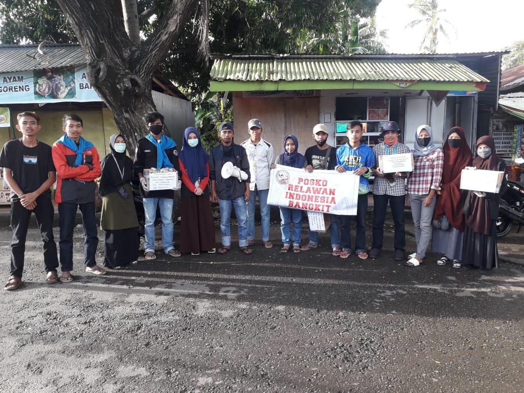 Relawan Indonesia Bangkit-IB Menyalurkan Bantuan Kepada Korban Kebakaran