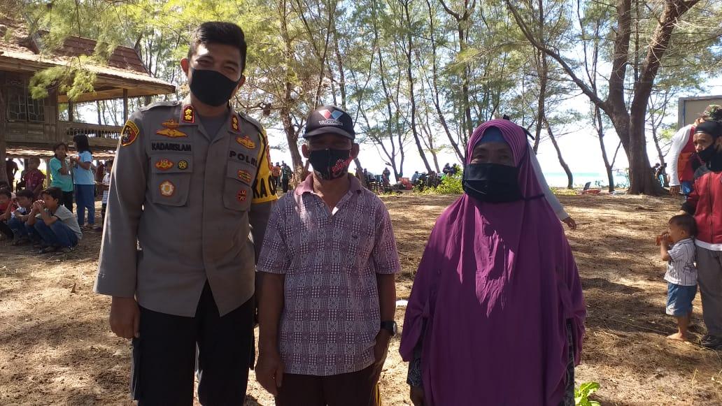 Bantuan Kemanusiaan Polres Pelabuhan Makassar untuk korban Banjir tiba di Lutra