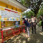 Ciptakan Situasi Kondusif Saat Libur Lebaran, Personel Satsabhara Polres Bone Lakukan Patroli di Destinasi Wisata