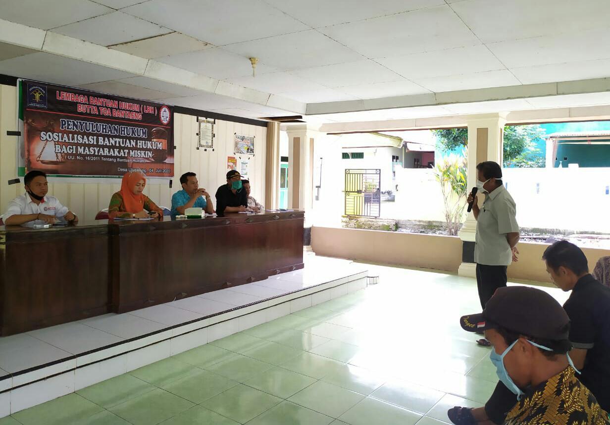 Pratita Hadiri Penyuluhan Hukum Gratis LBH Butta Toa
