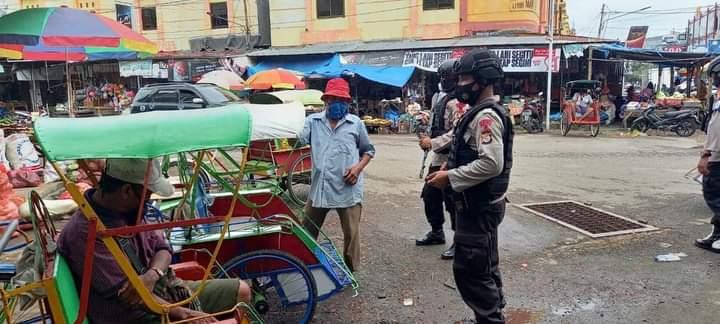 Jaga situasi kamtibmas tetap kondusif, Personil Yon C Pelopor Gencarkan patroli Aman Nusa
