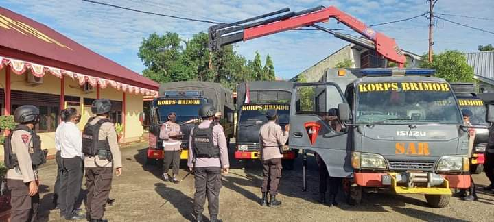 Apel Kesiapsiagaan, Danyon C Pelopor Chek kendaraan operasional SAR