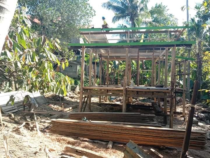 BAZNAS Bone Bangun rumah untuk Kakek Majid di Cebba Amali