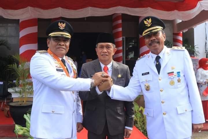 Jadi Inspektur Upacara Peringatan HUT Proklamasi, Bupati Bone Bacakan Sambutan Seragam Gubernur