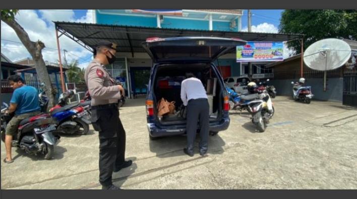 Cegah Gangguan Kamtibmas, SAT Sabhra Polres Bone melaksanakan Pengamanan Objek Vital