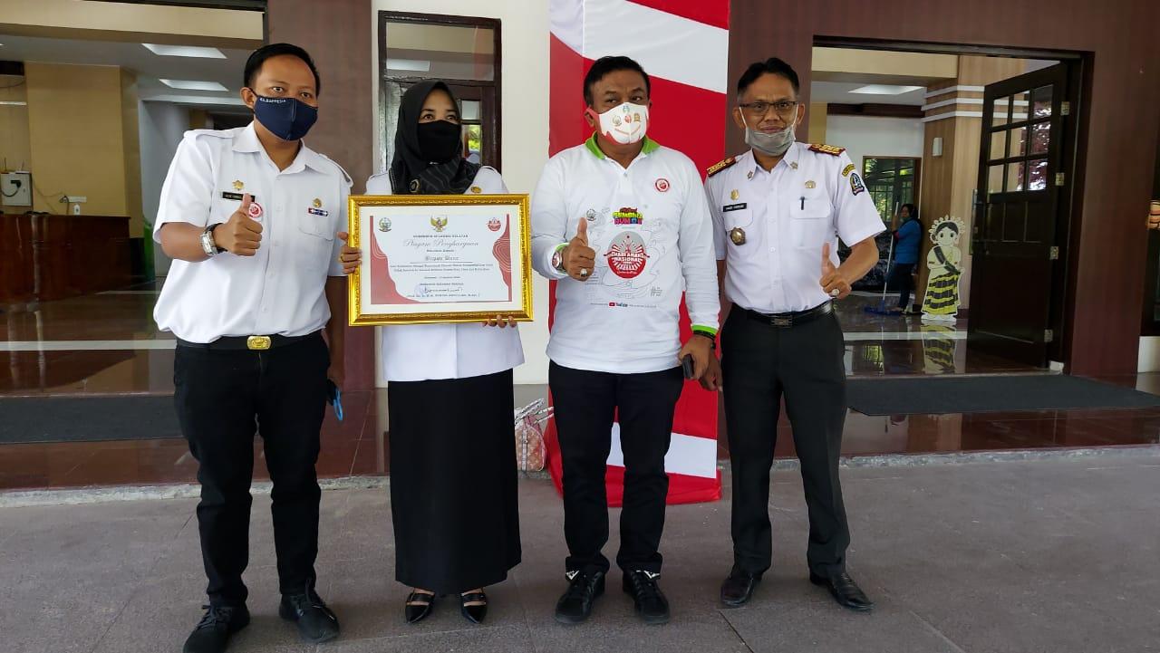 Bupati Bone terima penghargaan dari Pemberdayaan Perempuan dan Perlindungan Anak Republik Indonesia