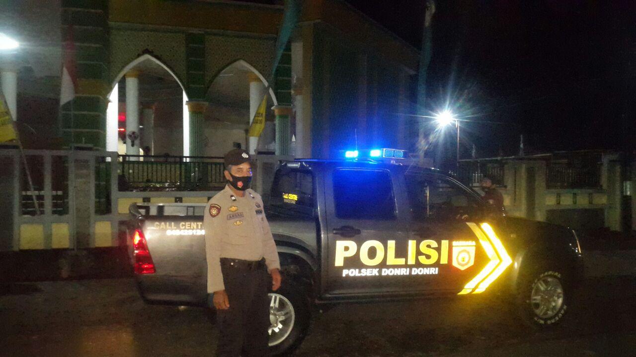 Jaga Kamtibmas dari kejahatan jalanan, Jajaran Polres Soppeng rutin laksanakan Blue Light Patrol