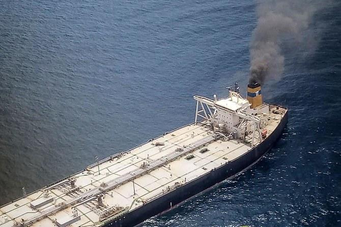 1 hilang dan 1 lainnya terluka dalam kebakaran kapal tanker minyak di dekat Sri Lanka