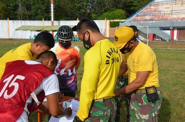 Danrem 141 TP Pantau langsung Werving penerimaan calon Bintara