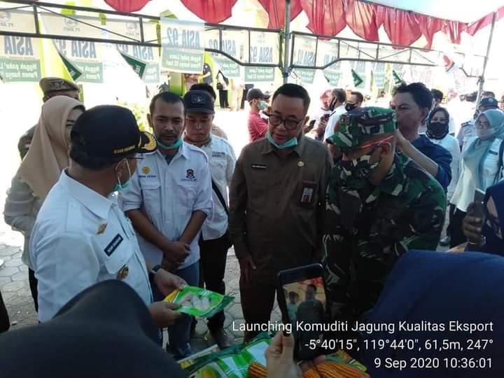 Dinas Pertanian Kabupaten Jeneponto Launching Komoditi Jagung Ekspor