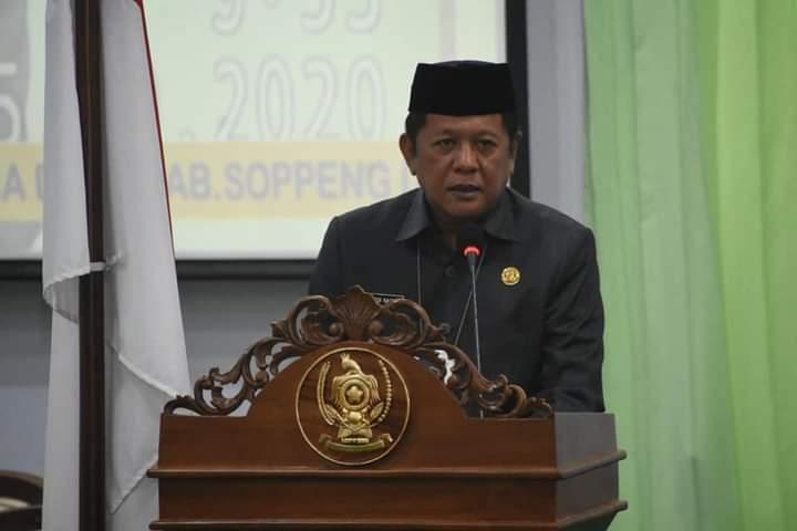 Bahas Ranperda, Bupati Hadiri Paripurna di kantor DPRD Soppeng