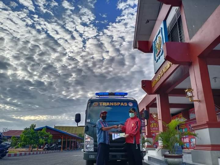 Lapas Kelas IIA Watampone Dapat Bantuan Mobil Transpas dari Direktorat Jenderal Pemasyarakatan