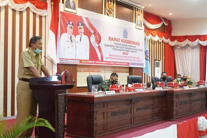 Tindak Lanjuti Instruksi Presiden RI, Kesbangpol Bone Gelar Rapat Koordinasi