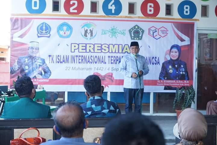Bupati Bone Resmikan TK Islam Internasional Terpadu Anak Bangsa