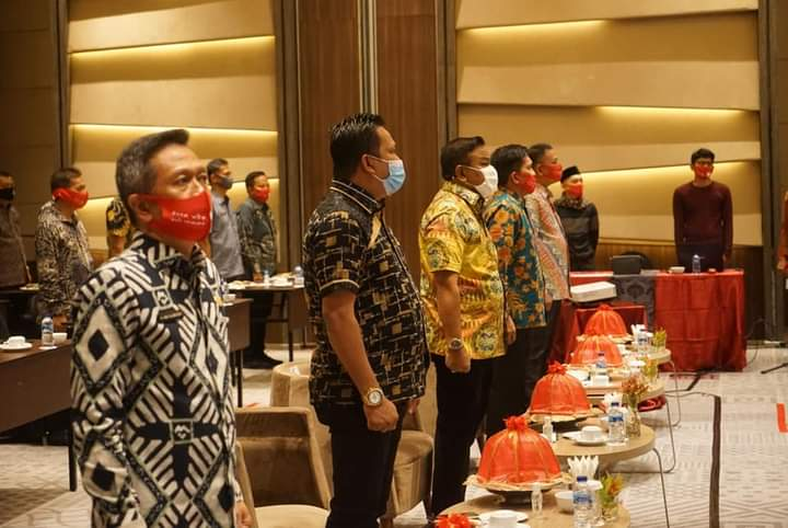 Bupati Bone Buka Buka Sosialisasi Permendagri di Novotel Makassar
