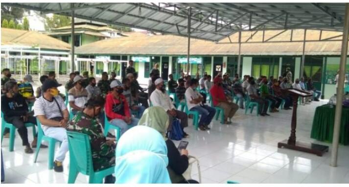 Program Pembinaan Lingkungan Hidup, Dandim Soppeng Minta Babinsa dan kelompok tani bekerja sama