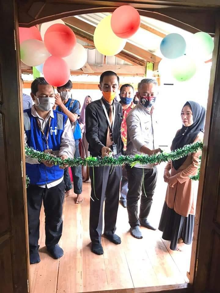 Kepala Bank sulselbar Cabang Jeneponto resmikan bedah rumah di Bontoramba