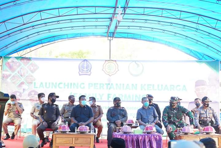 Dinas Ketahanan Pangan Kabupaten Bone Launching Family Farming