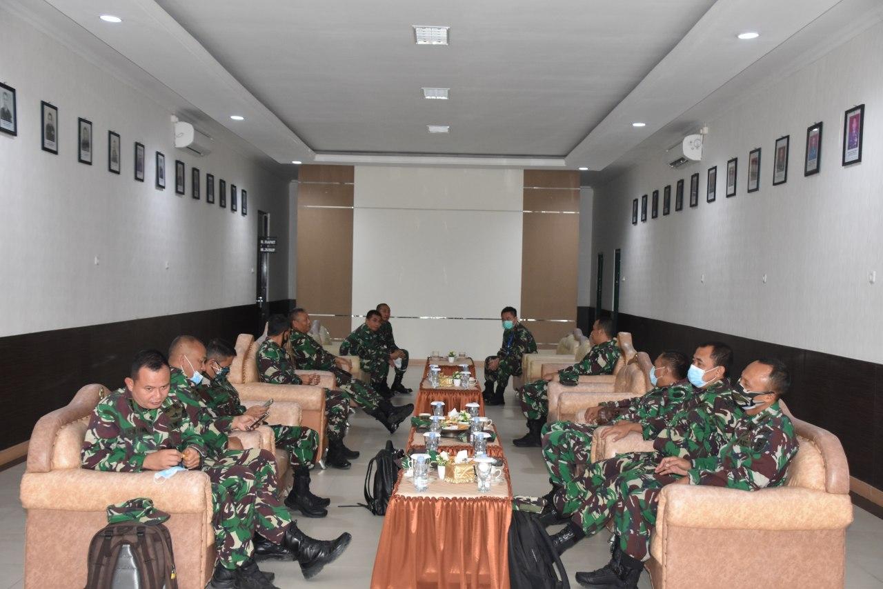 Tim Current Audit Itjenad lakukan pemeriksaan program kerja dan anggaran tahun 2020 di Lingkup Korem 141/Tp