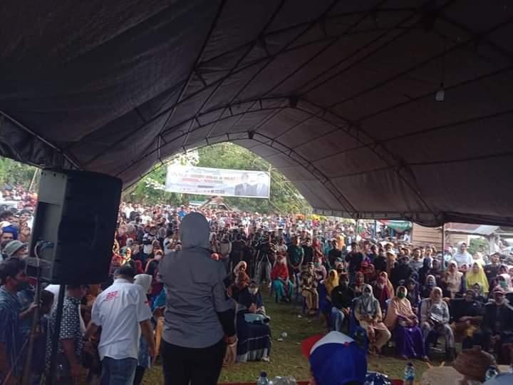 Janji Politiknya dinilai telah terealisasi, Warga Desa Bone Bersatu mendukung Paslon RAPI