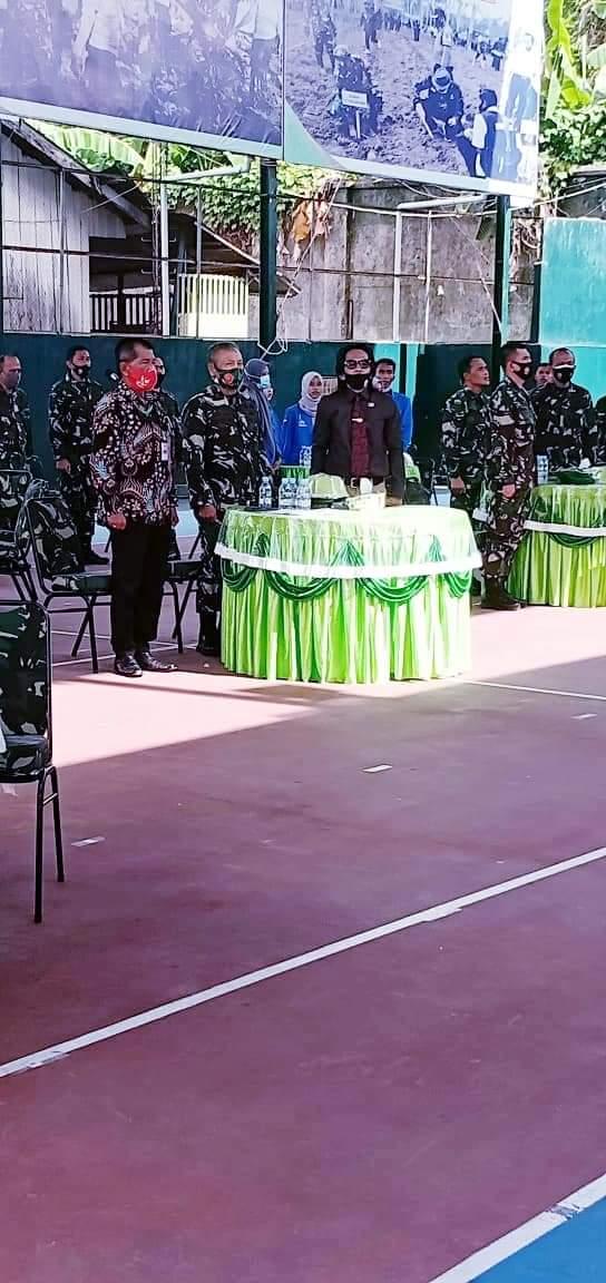 Menjaga Keutuhan dan Kemajuan Bangsa Dalam Bingkai NKRI, Korem 141/TP Lakulan Pembinaan Komunitas