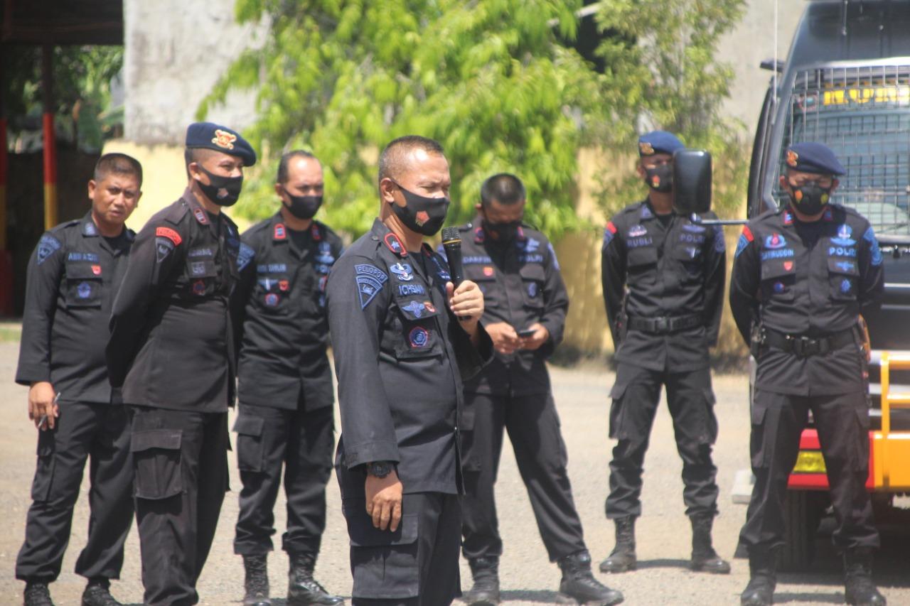 Jelang Pilkada Serentak, Batalyon C Pelopor Giat Latihan Penaggulangan Huru Hara