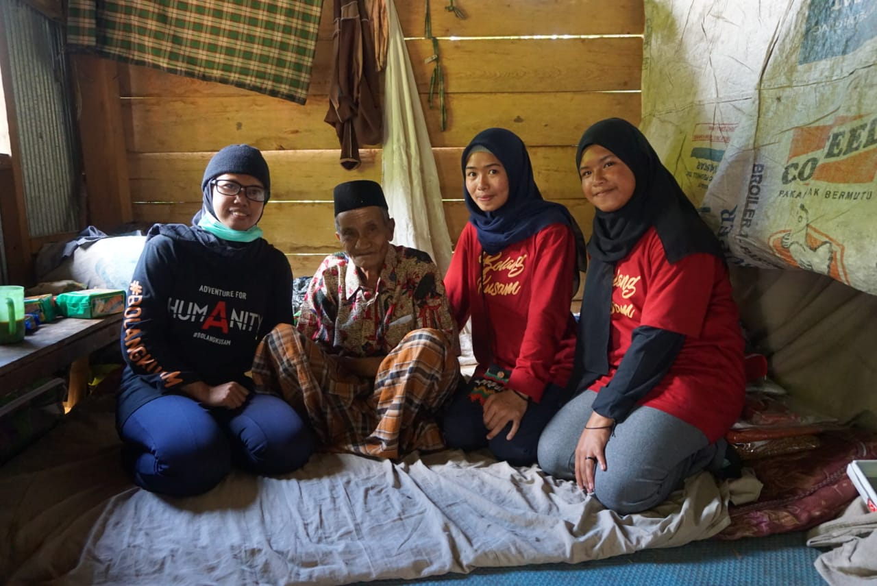 Petualangan Kemanusiaan Bolang Kusam di pelosok Kabupaten Gowa