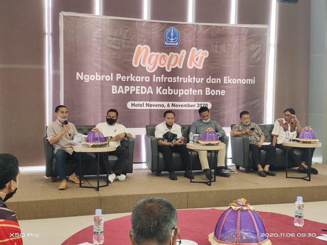 Pemerintah Kabupaten Bone menggelar dialog terbuka soal infrastruktur dan ekonomi