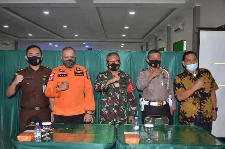 Kaposahli Pangdam XIV Hasanuddin Pimpin Evaluasi dan kaji Ulang dan PenutupanLatihan Gladi Posko 1