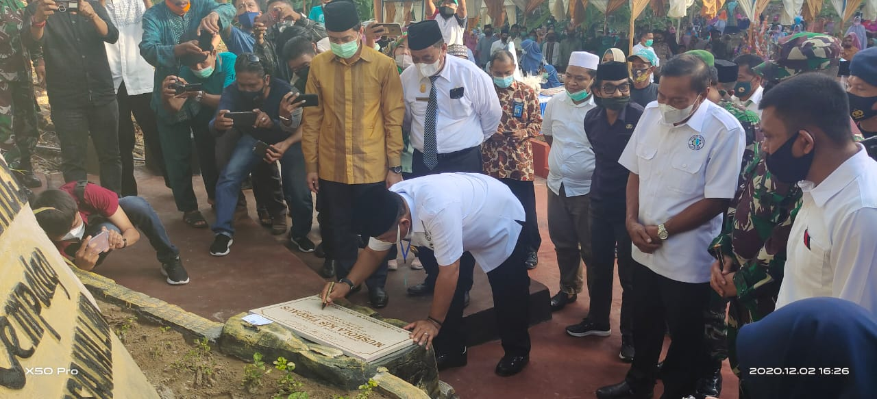 Bupati Bone Resmikan Mushollah KIS Firdaus di Lokasi Wisata Cempalagi