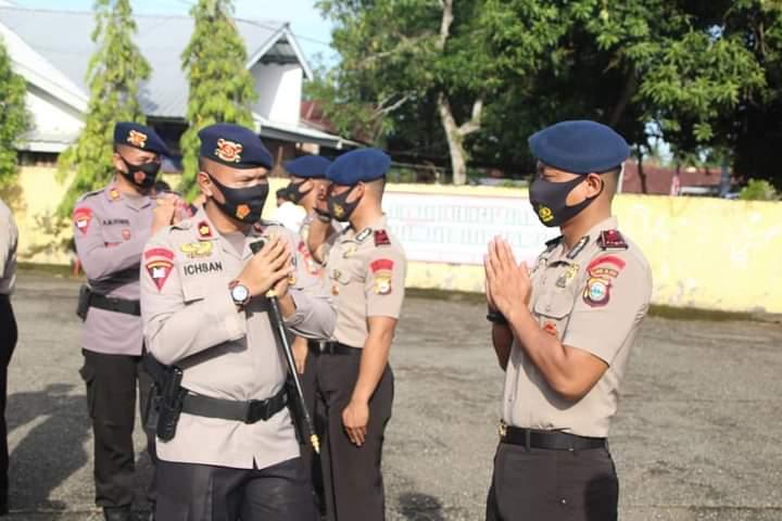 56 Personel Batalyon C Pelopor dapatkan Kenaikan Pangkat Periode Januari 2021