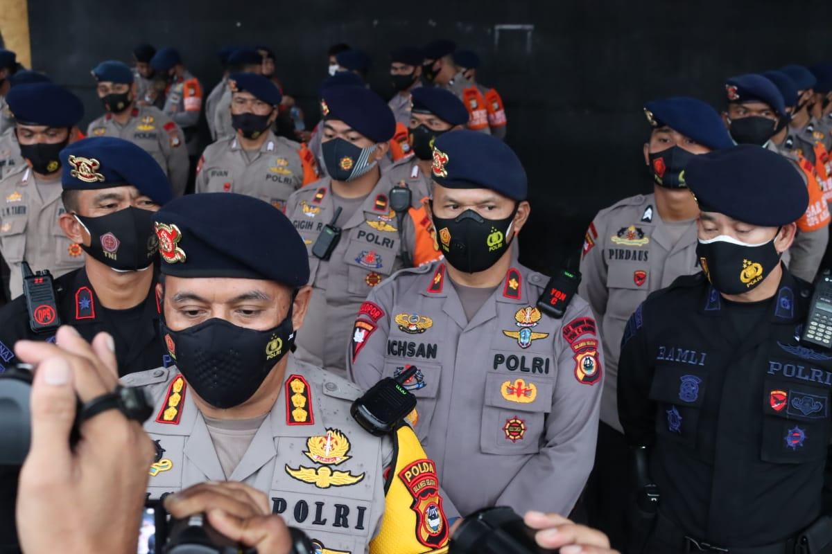 Bantu Korban Gempa, 136 Personel Satbrimob Polda Sulsel Diterjunkan ke Mamuju