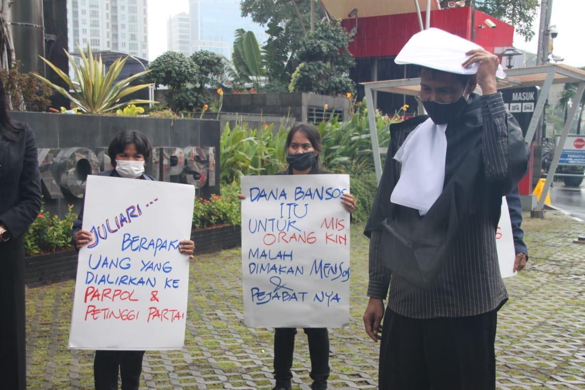 Hukum harus di Tegakkan, Jangan Biarkan Para Koruptor Bansos Bebas