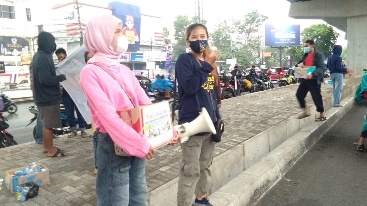 Tak Tinggal Diam, FH UNSA Makassar Galang Dana Untuk Korban Gempa Sulbar