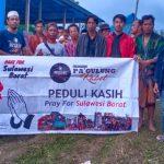 Usai lakukan Penggalangan, Komunitas Panggulung Kabel Bone Bawa Bantuan untuk korban Gempa Sulbar