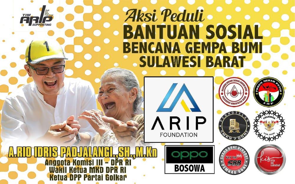 Berhasil Kumpulkan Donasi, ARIP Foundation bersama sejumlah komunitas akan bergerak ke Sulbar