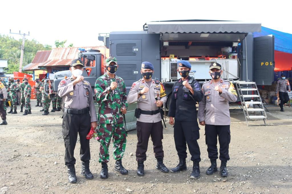 16 Hari Menjalankan Misi Kemanusiaan di Sulbar, 2 SSK Personil Satbrimob Polda Sulsel kembali ke Kesatuan
