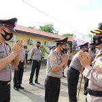 Kapolres Bone Pimpin Upacara Kenaikan Pangkat 148 Personel dan Polsek Jajaran