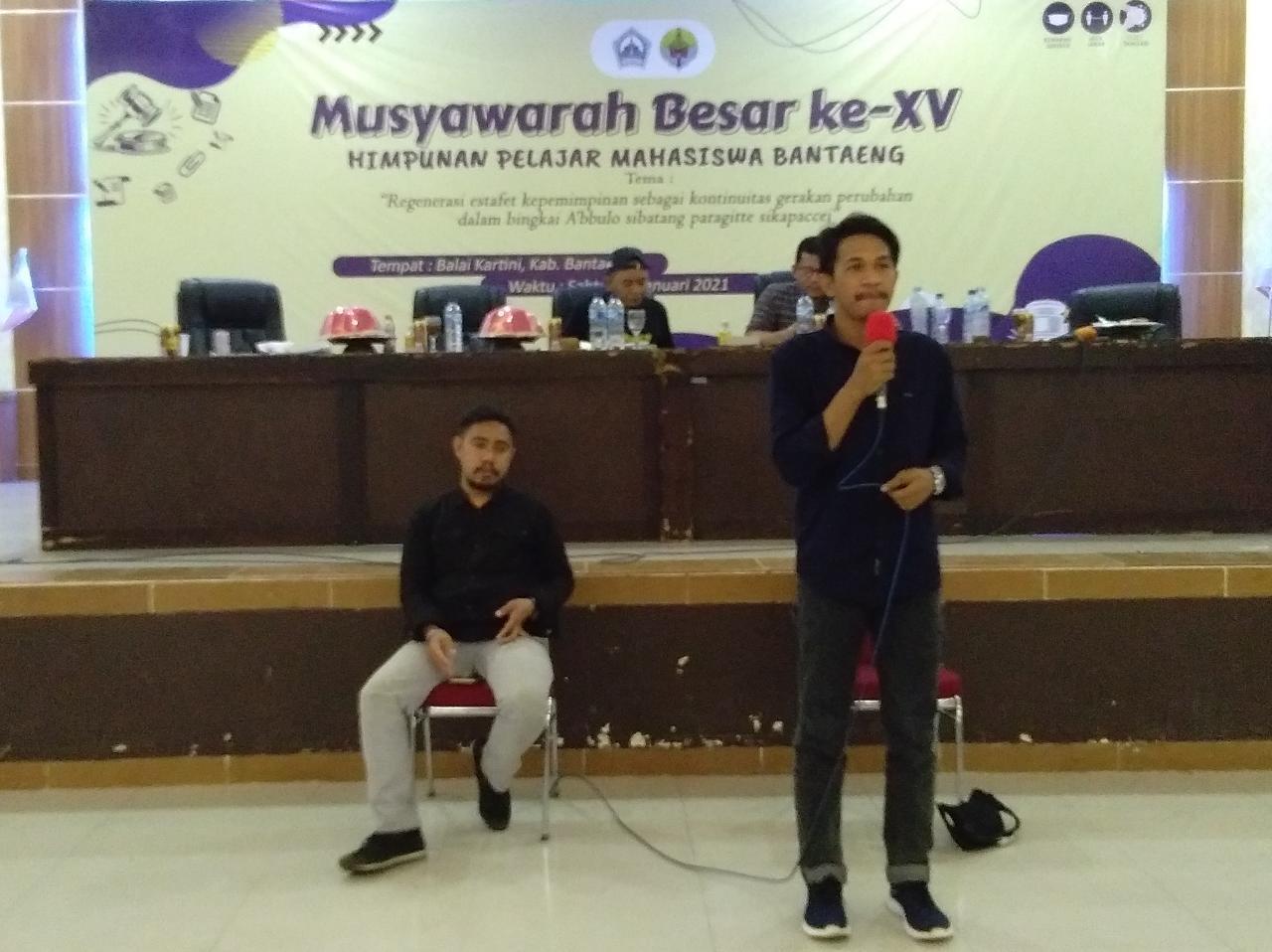 Kantongi Tiga Rekomendasi saat MUBES, Mabrur Terpilih Jadi KetuaHPMB