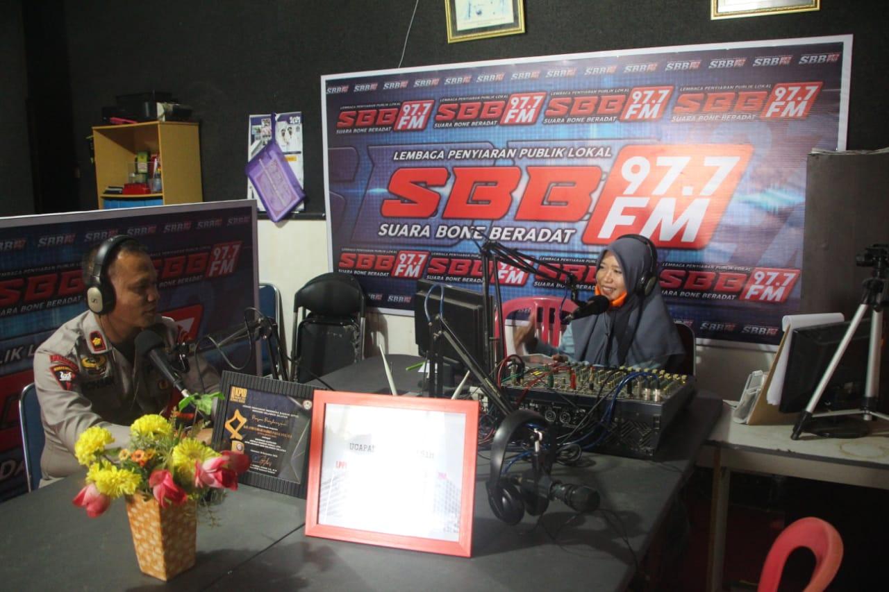 Jadi Narasumber di Radio SBB, Danyon C Pelopor: Jangan pernah bosan menerapkan Protokol kesehatan