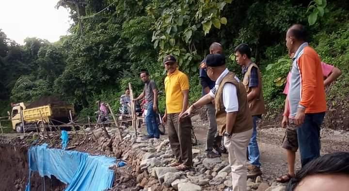 Pasca Banjir di Bangkala, Kepala BPBD Jeneponto Sambangi Lokasi