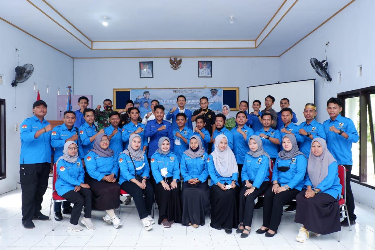 Pengurus DPK KNPI Kecamatan Pajukukang Resmi di Lantik
