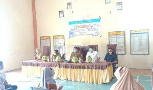 Sosialisasi Tingkat Desa, dr Rais Munajat Sampaikan Pentingnya Vaksin sebagai Alternatif memutus Penyebaran covid 19