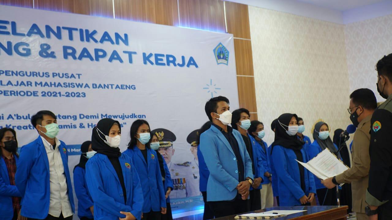 Hadiri Pelantikan dan Raker HPMB, Ilham Azikin: Pengurus PP-HPMB Harus menjawab tantangan zaman