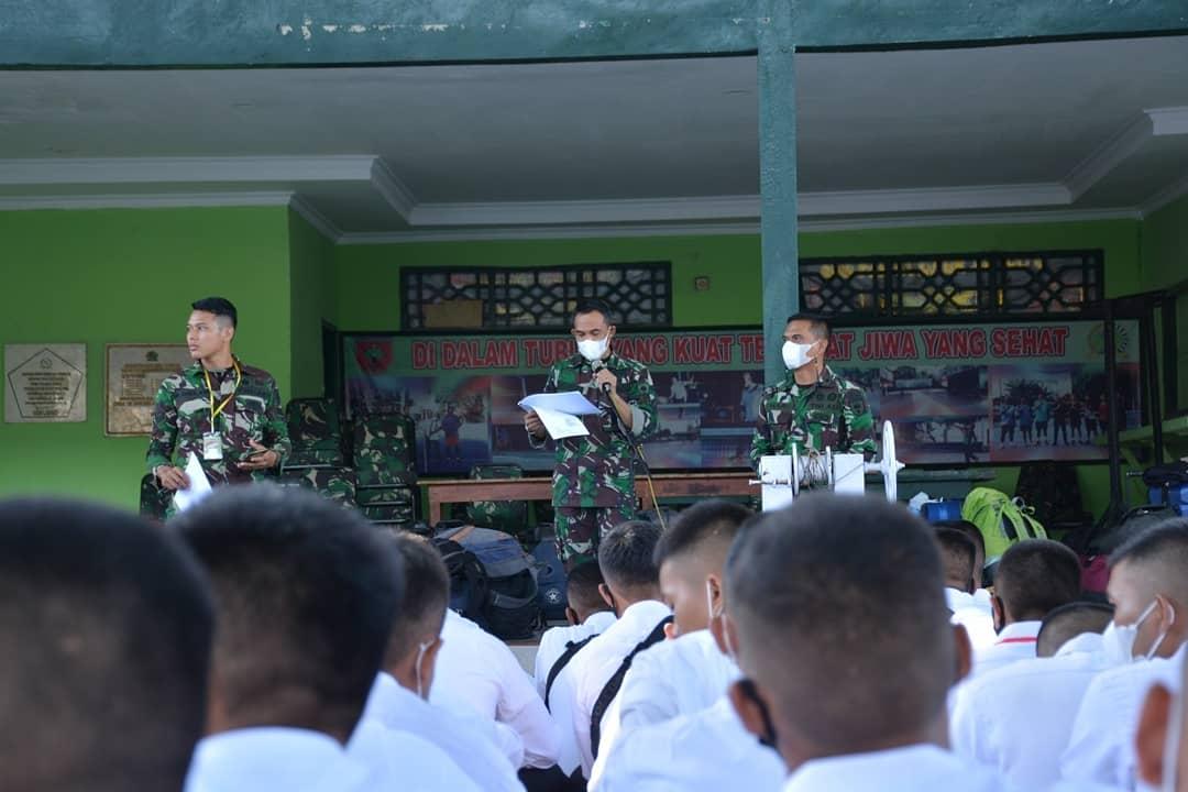 348 Calon Siswa Cata PK TNI AD Gelombang satu 2021 Lanjutkan Tes pusat di Pakkatto