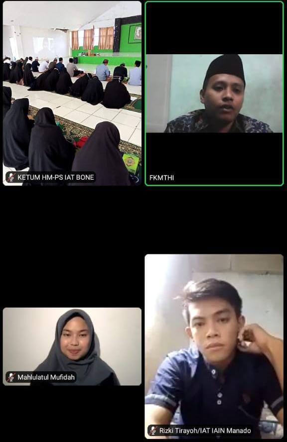 HMPS Fakultas Ushuluddin dan Dakwah IAIN Bone Ikuti Tadarus Nusantara